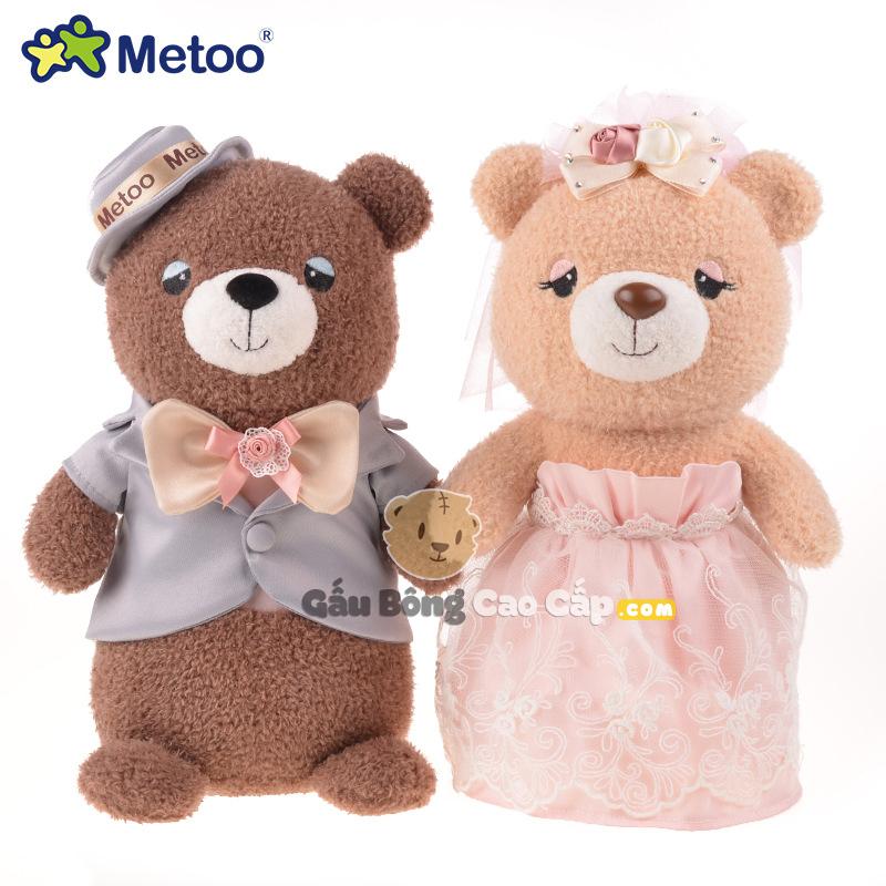 Gấu Bông Cô Dâu Chú Rễ Metoo