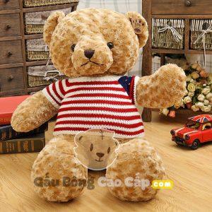 Teddy áo len cờ mỹ