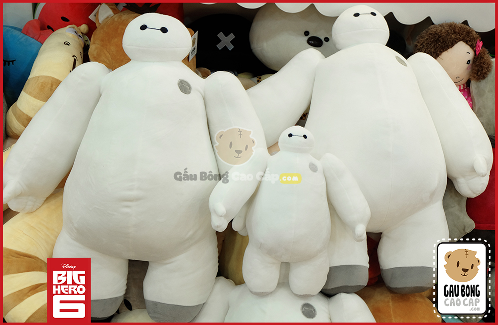 Gấu Bông Baymax Bigsize