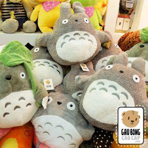 Totoro cầm bánh