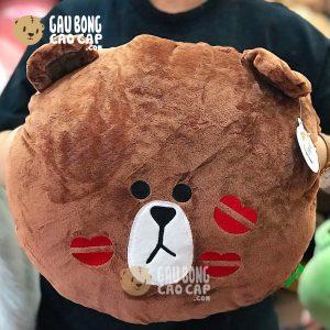 Gối ôm đút tay Gấu Brown