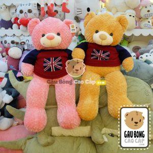 Teddy áo len cờ Anh
