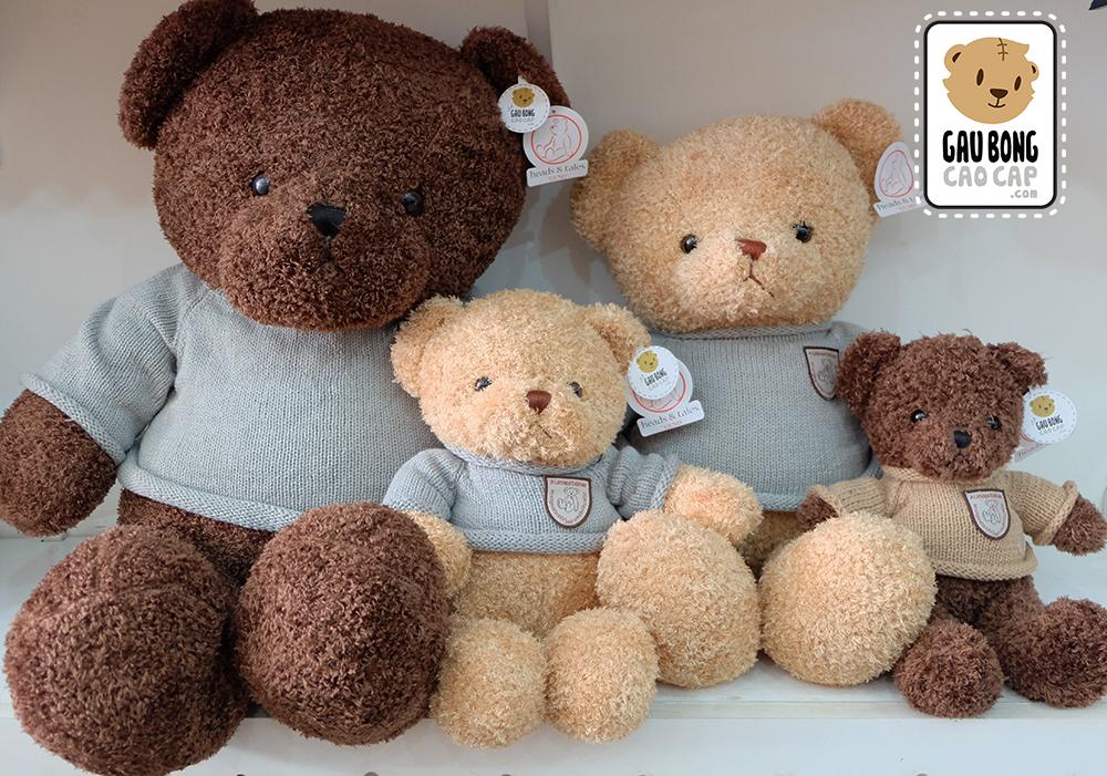 Teddy áo len lông xù Head and Tales