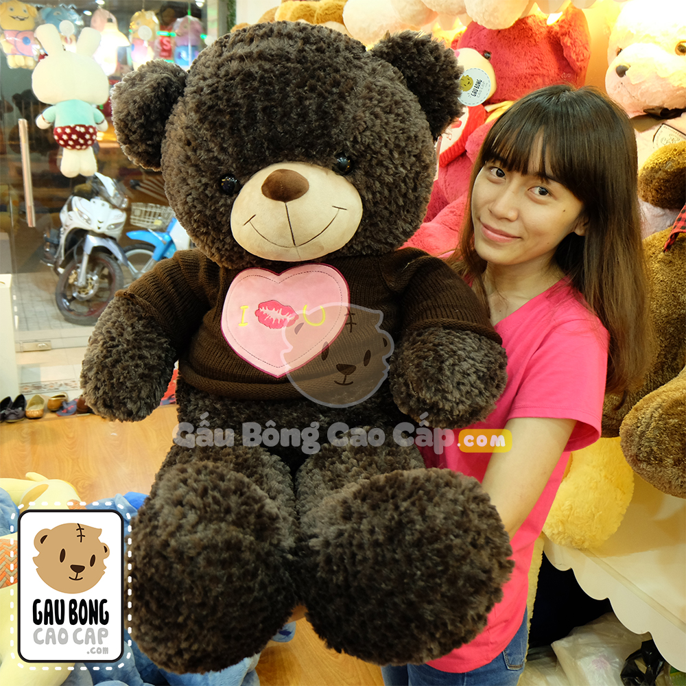 Gấu Teddy I Kiss You