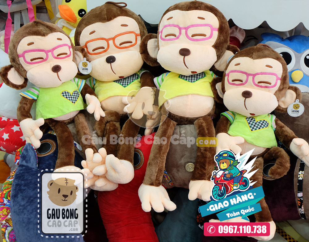Khỉ bông đeo kiến