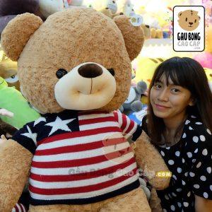 Gấu Teddy áo len Smiley