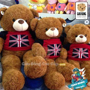 Gấu Teddy cờ anh