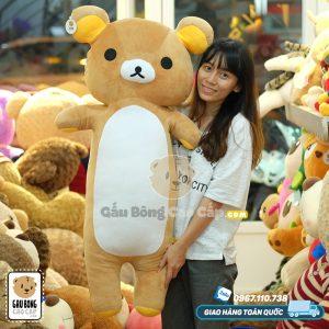 Gấu Bông Rilakkuma Zipper