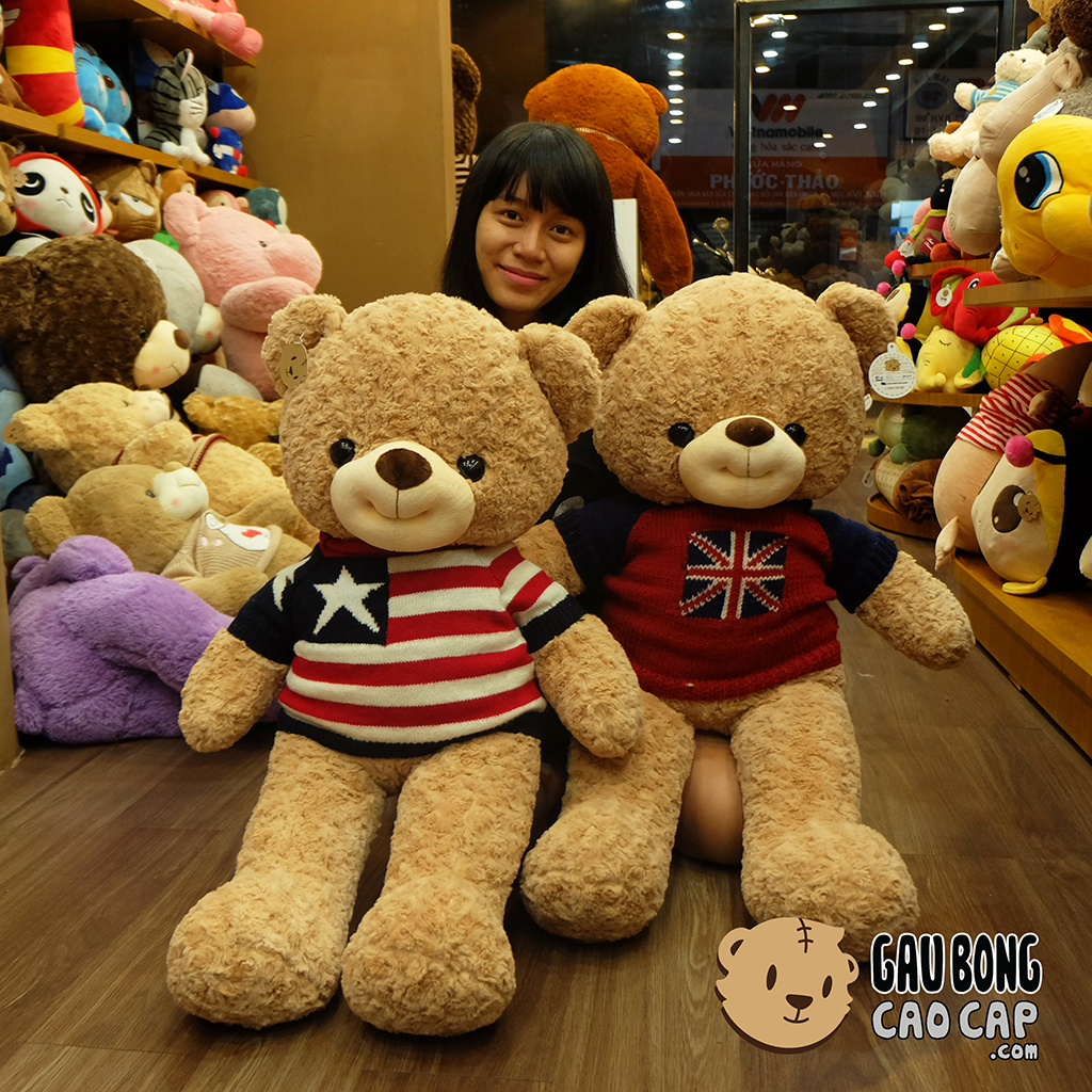 Gấu Teddy Smiley