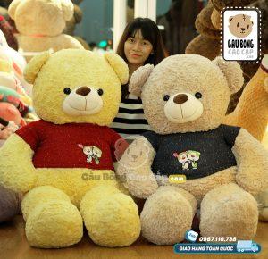 Gấu Bông Teddy áo len Couple