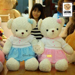 Gấu Teddy Đầm VOAL