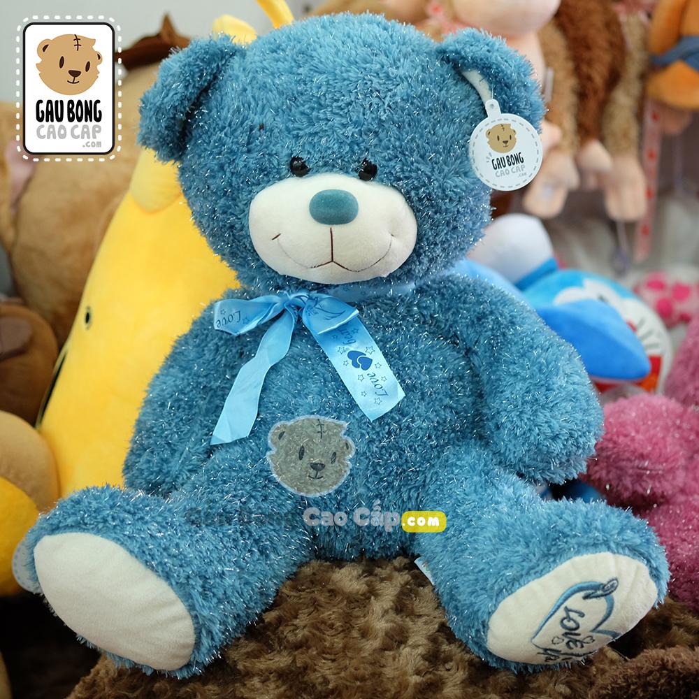 Gấu Teddy lông kim tuyến