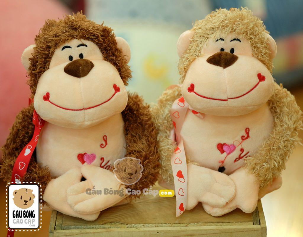 Khỉ lông xù I Love You