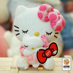 Gấu Bông Kitty ôm Búp Bê