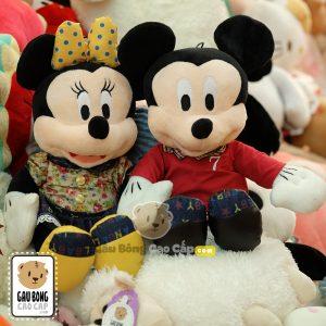 Chuột bông Mickey & Minnie