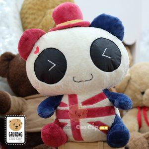 Gấu Bông Panda Cờ Anh