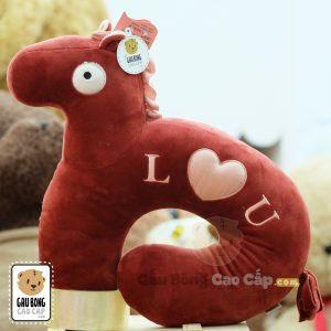 Gối chữ U – Ngựa Bông