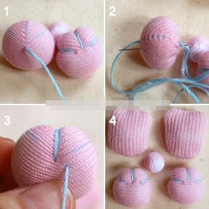 Hướng dẫn làm thỏ bông handmade từ vớ cũ cực cute
