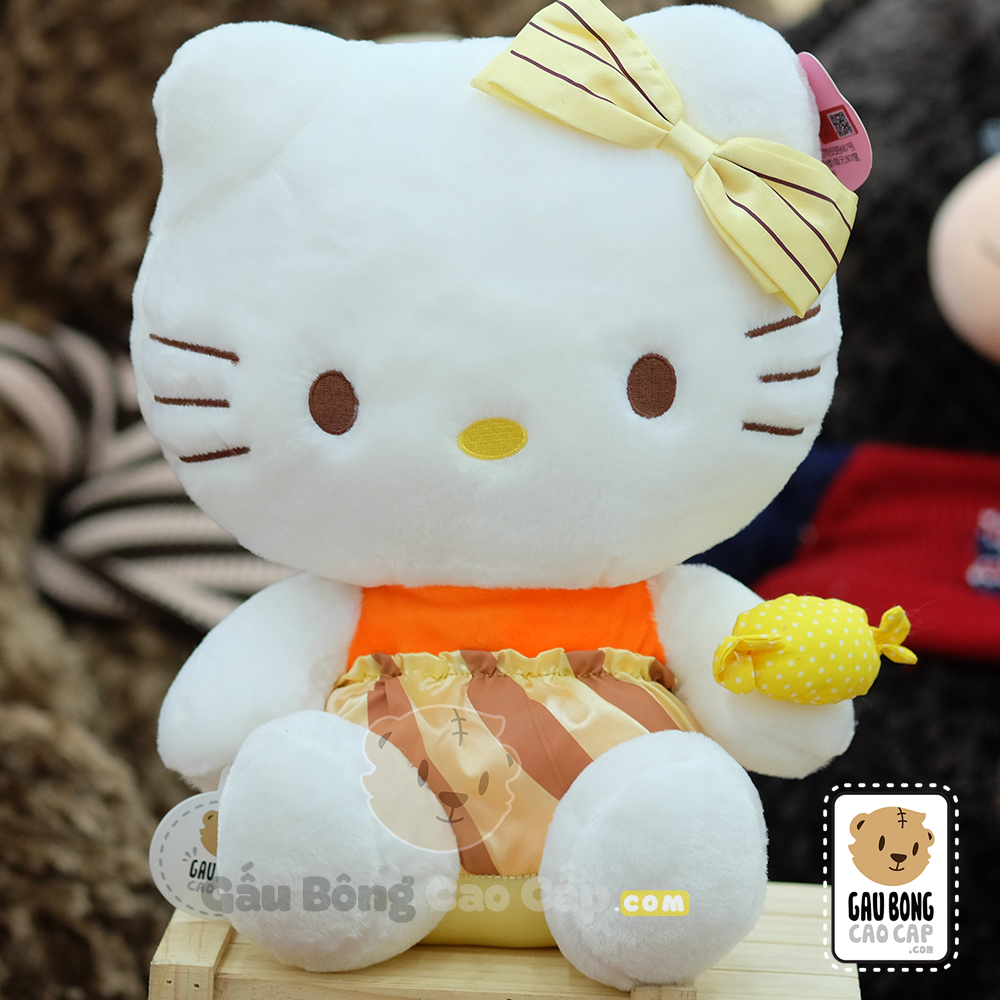 Hello Kitty cầm Keo