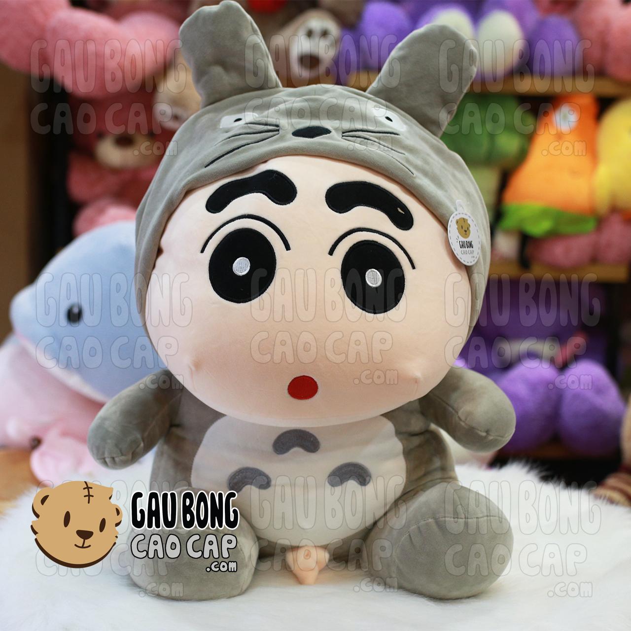 Shin đội lốt Totoro lông mịn