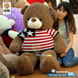 Gấu Teddy Socola áo len Sao