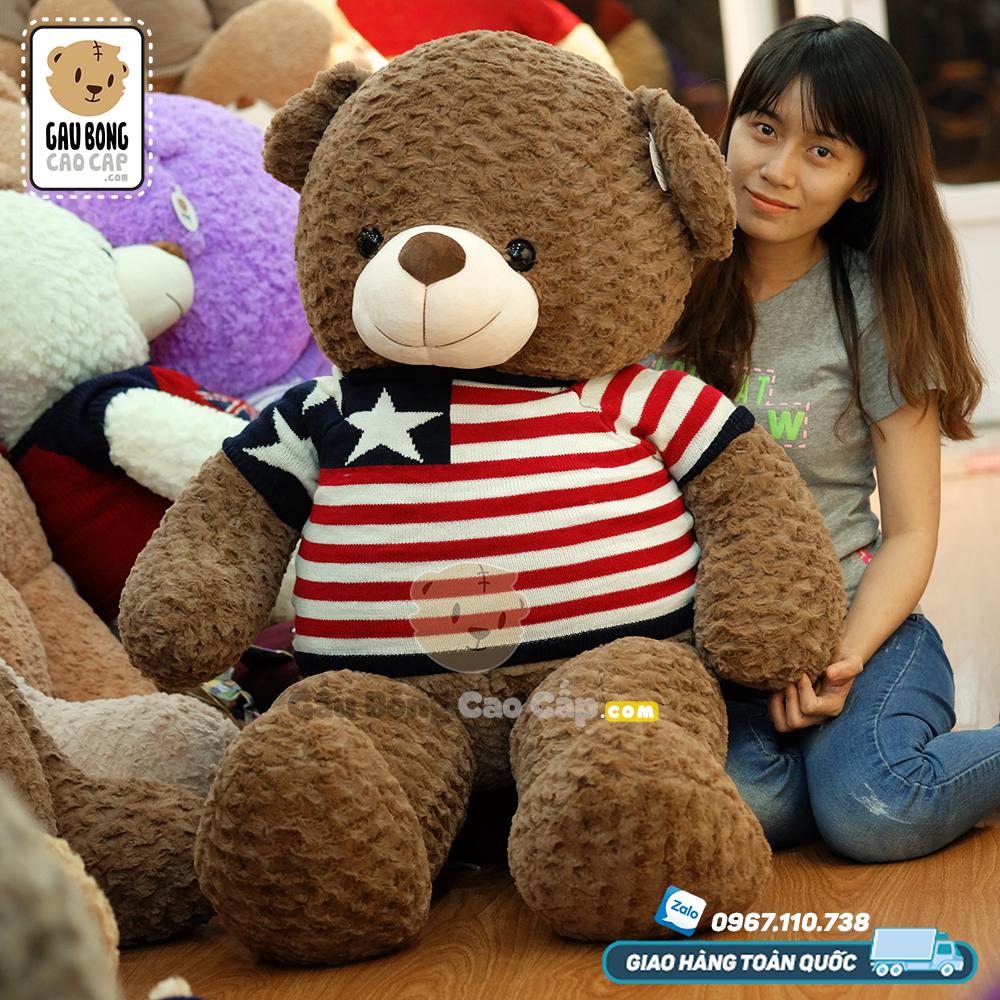 Teddy áo len sao
