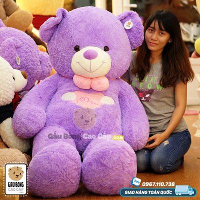Teddy tím Angel