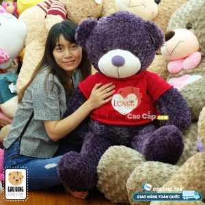 Gấu Teddy tim LOVE