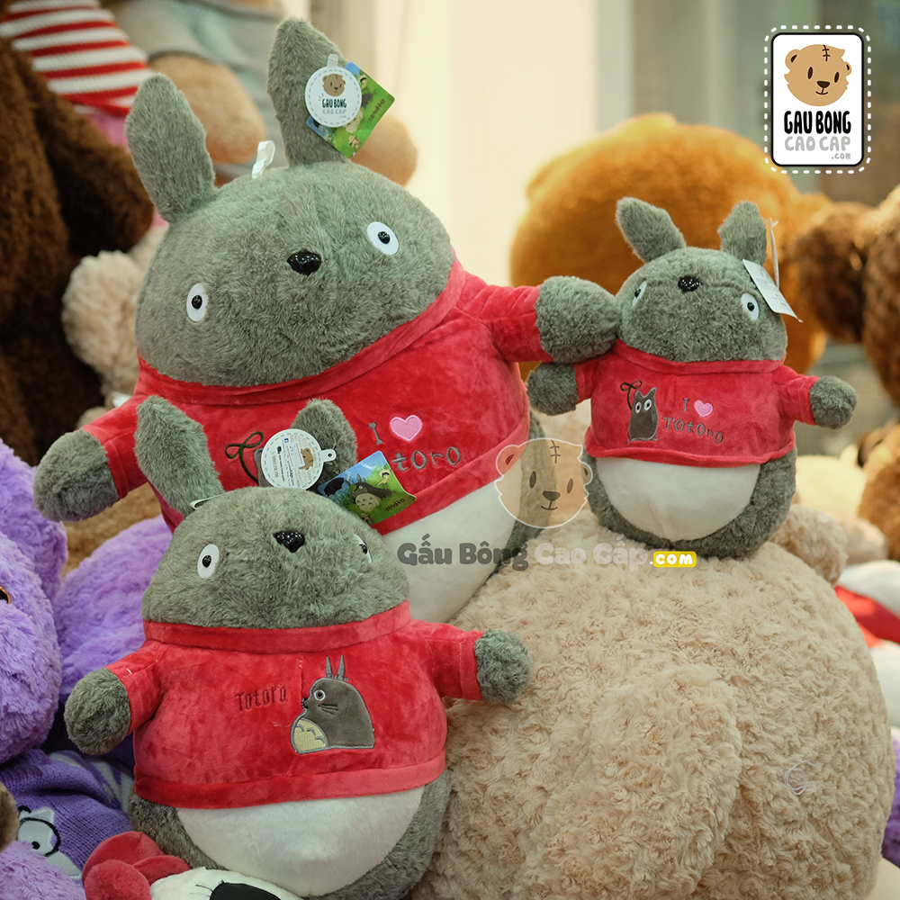 Totoro mặc áo nhung