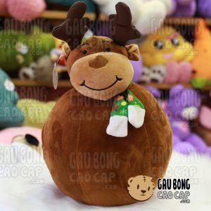 Gấu Bông Tuần Lộc Noel - Tròn Đút Tay