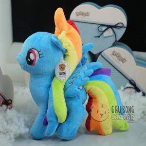 Ngựa Pony – Bờm Vải Nhung