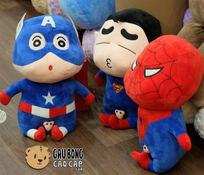 Shin Avenger -Gấu bông nhân vật siêu anh hùng