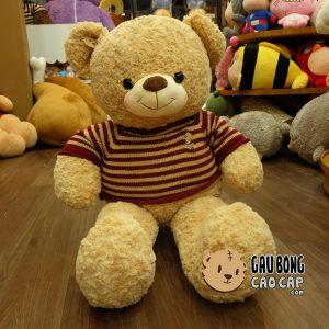 Gấu Teddy áo len Cafe Sữa - Size: 1m1