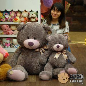 Gấu Teddy Lông Xù Morgan