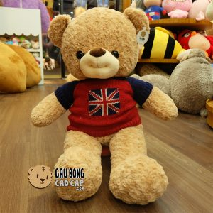 Gấu Teddy Smiley - Size: 90cm