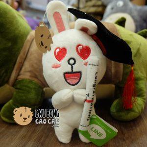 Gấu Bông Tốt Nghiệp - Thỏ Cony