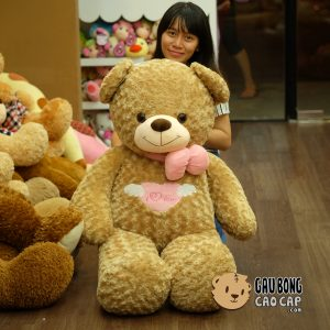 Gấu Teddy Angel 1m4 - Vàng
