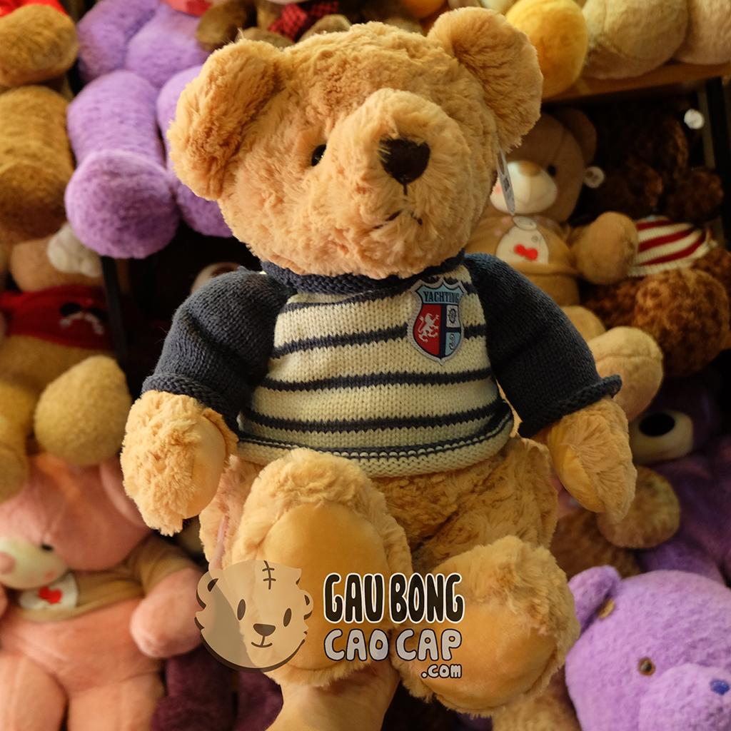 Gấu bông Teddy áo len Thủy Thủ