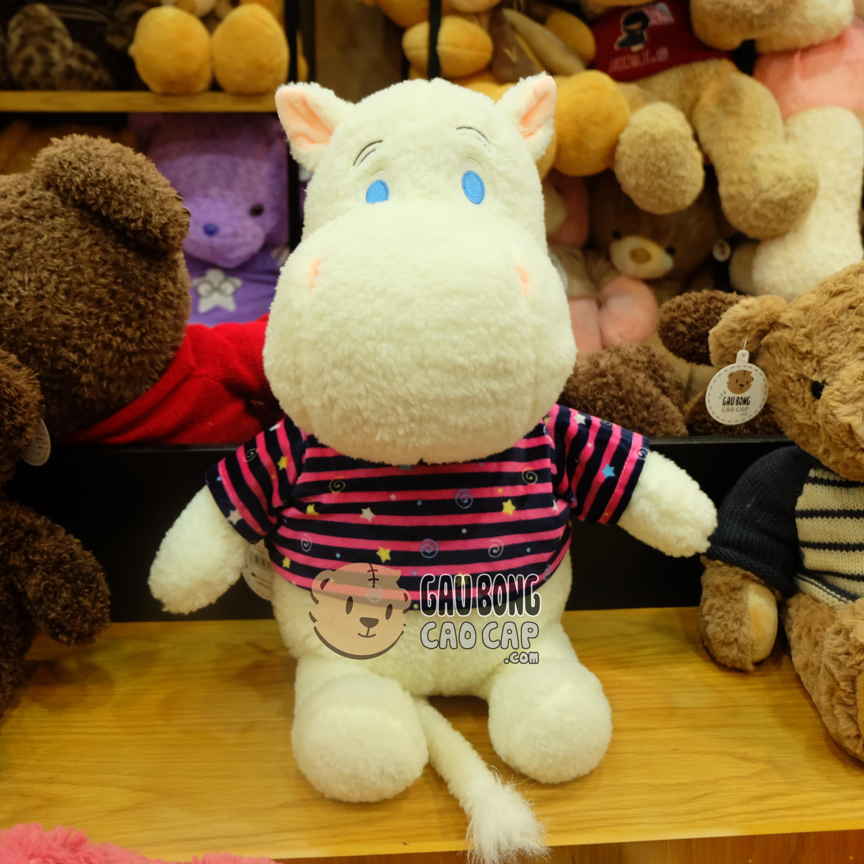 Hà mã Moomin mặt áo