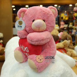 Gấu Bông ôm tim Hug Me
