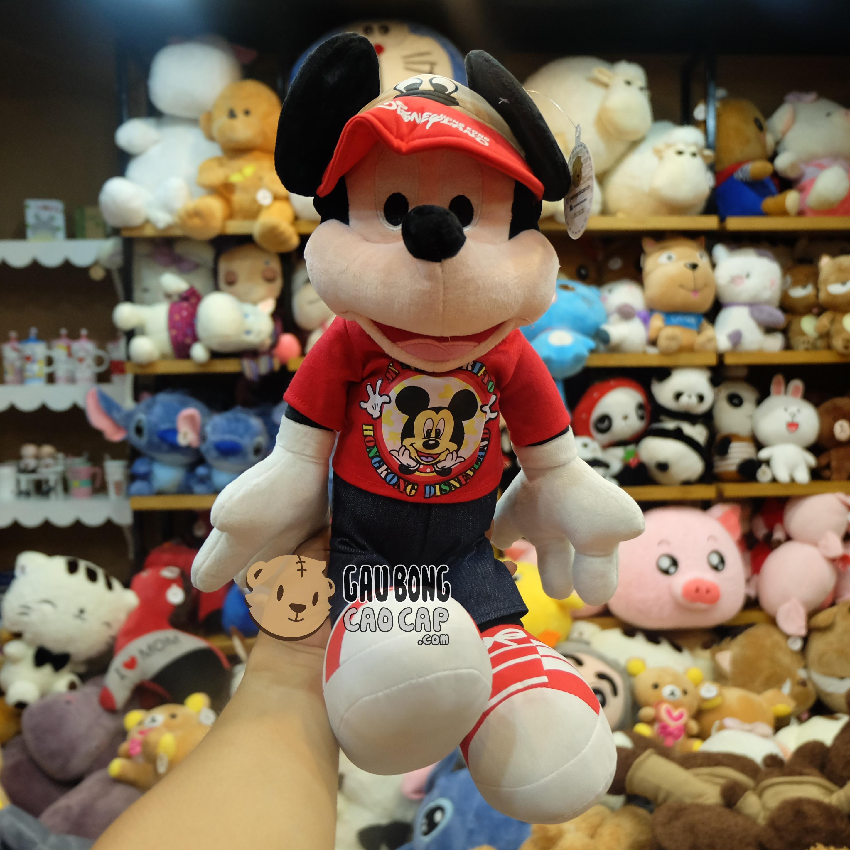 Mickey Xi Teen đội nón