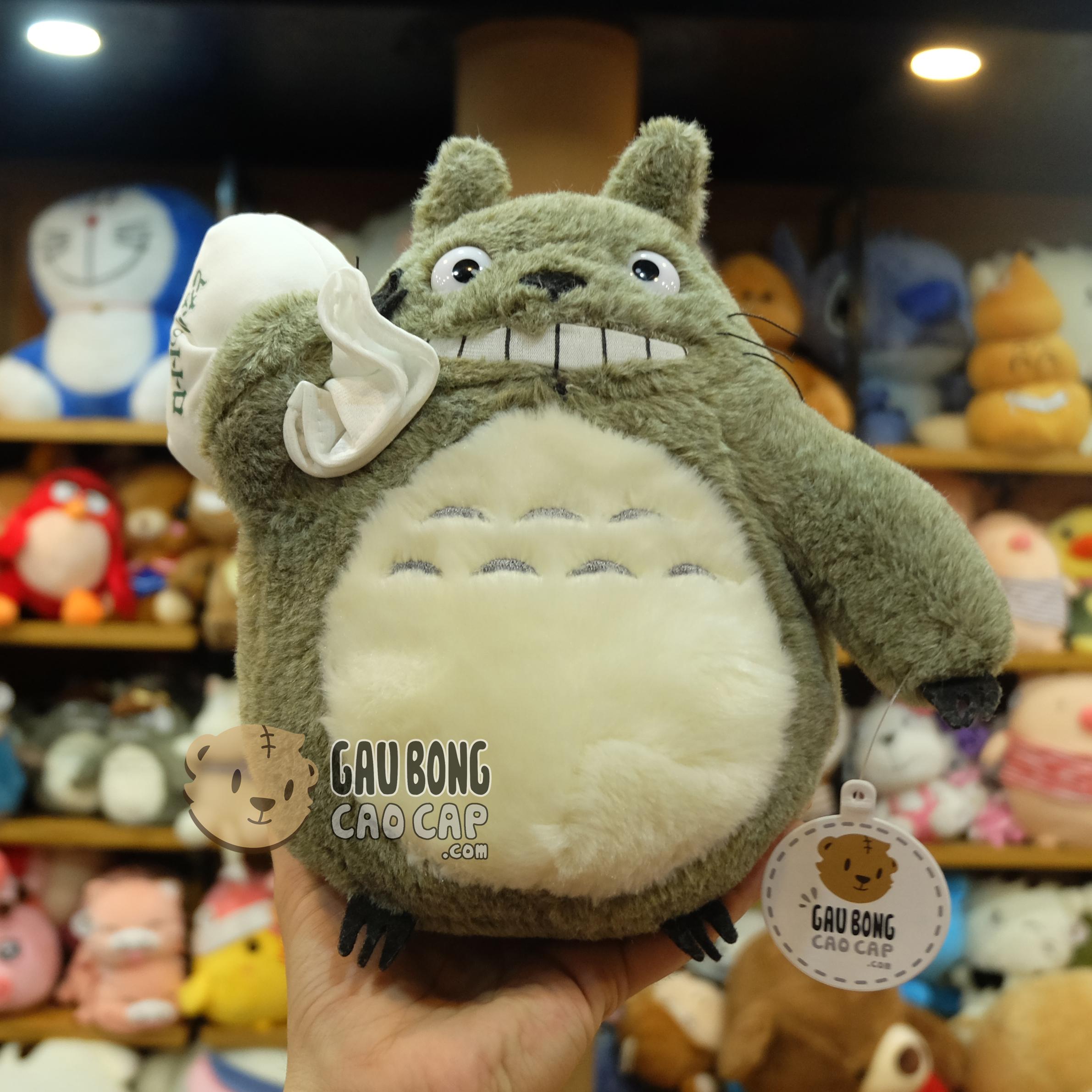 Gấu Bông Totoro cầm túi