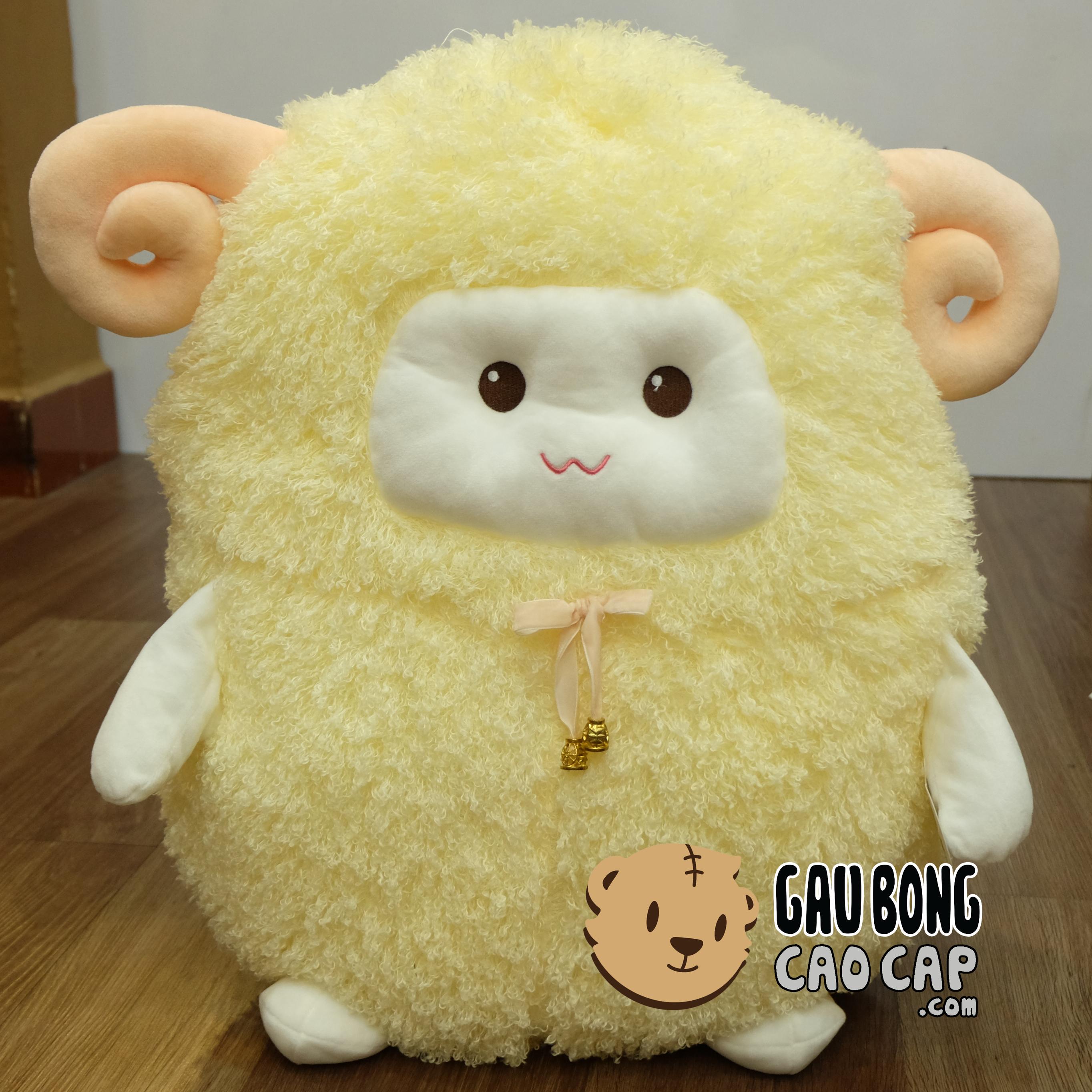 Cừu Bông Đeo Chuông