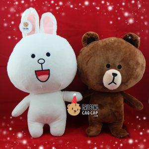 Thỏ bông Cony & Gấu Brown
