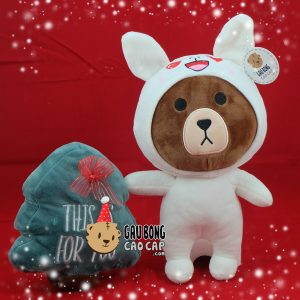 Gấu Brown cosplay đội lốt Cony