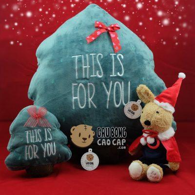 Gấu Bông Cây Thông Noel