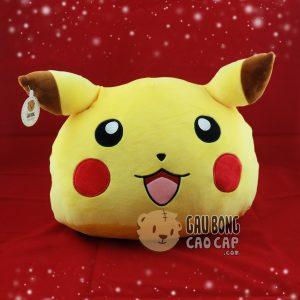 Gối ôm đầu to Pikachu