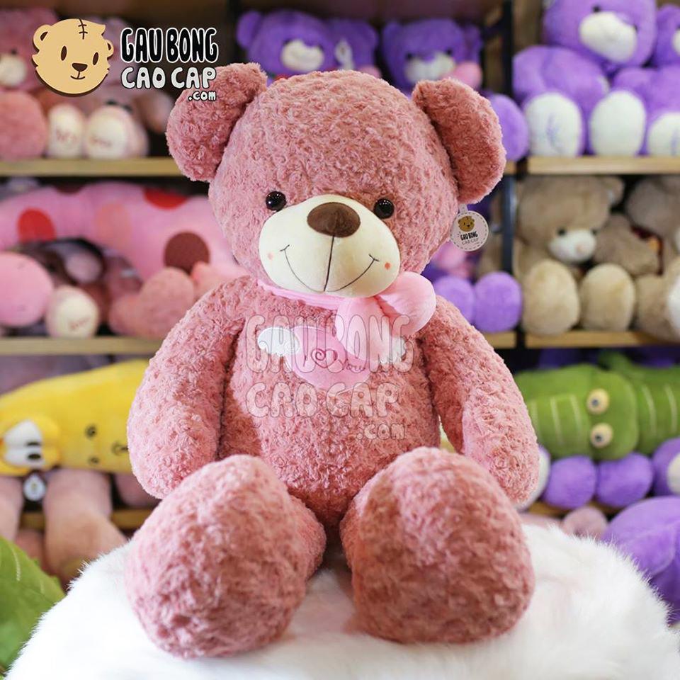 Gấu Teddy Angel hồng 1m4