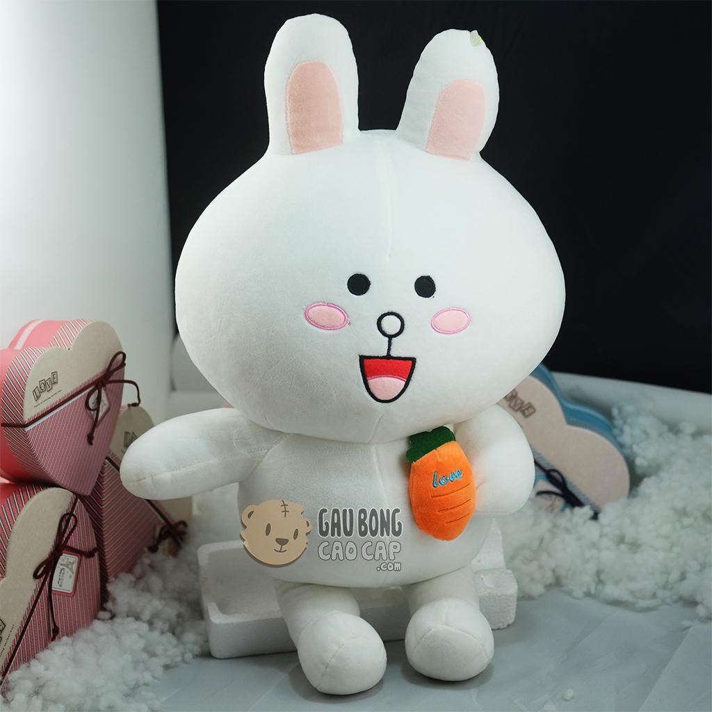 Thỏ Cony ôm Cà rốt