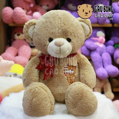 Gấu Teddy Birthday Cake